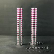Aluminio tubo del rimel