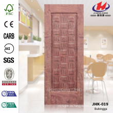JHK-019 Best Lattice Sudáfrica Diseño Clásico Rosewood MDF Puerta Materail Hoja