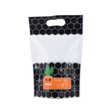 Biodegradabale Frozen Sea Food Rice Coffee Tea Snack Fruit Printed Zipper Zip Lock Ziplock Laminated Stand up Pouch Kraft Paper Flexible Sachet Plastic Packing