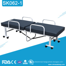 SK062-1 Cheap Hospita Manual Folding Medical Bed