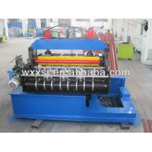 Hydraulic roof sheet curving machine