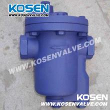 Trampa de vapor de cubeta invertida de acero fundido (CS11)