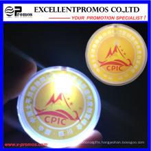 Supply Logo Printed Flashing Light Badge (EP-B7027)