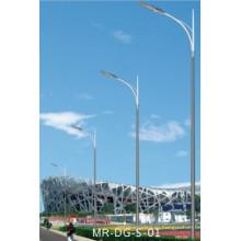 Уличный свет столба с одиночной рукояткой