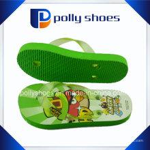 Bonne conception populaire mignon enfants pantoufles PVC