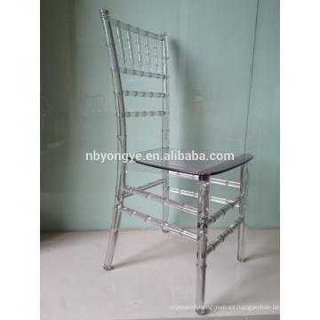 Plastic Pc puro (policarbonato) chiavari silla