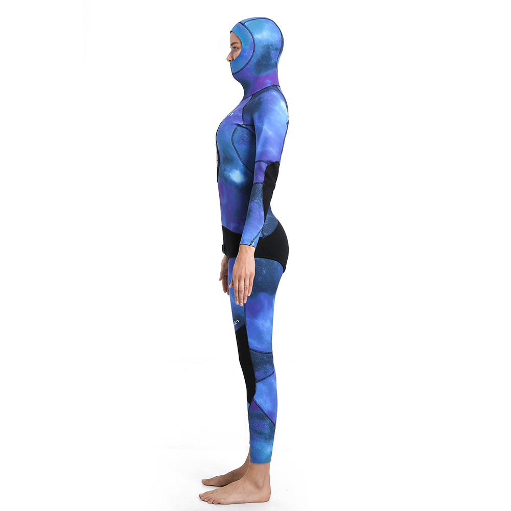 Hooded Spearfishing Wetsuit