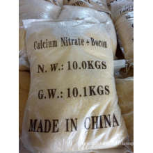 Free Sample Yellow Calcium Nitrate with Boron