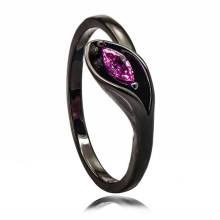 Großhandel indischen Schwarz Kupfer Schmuck Werkzeug Sterling Silber Ring Design für Mädchen