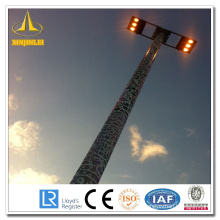 Steel HDG High Mast Lamp Poles