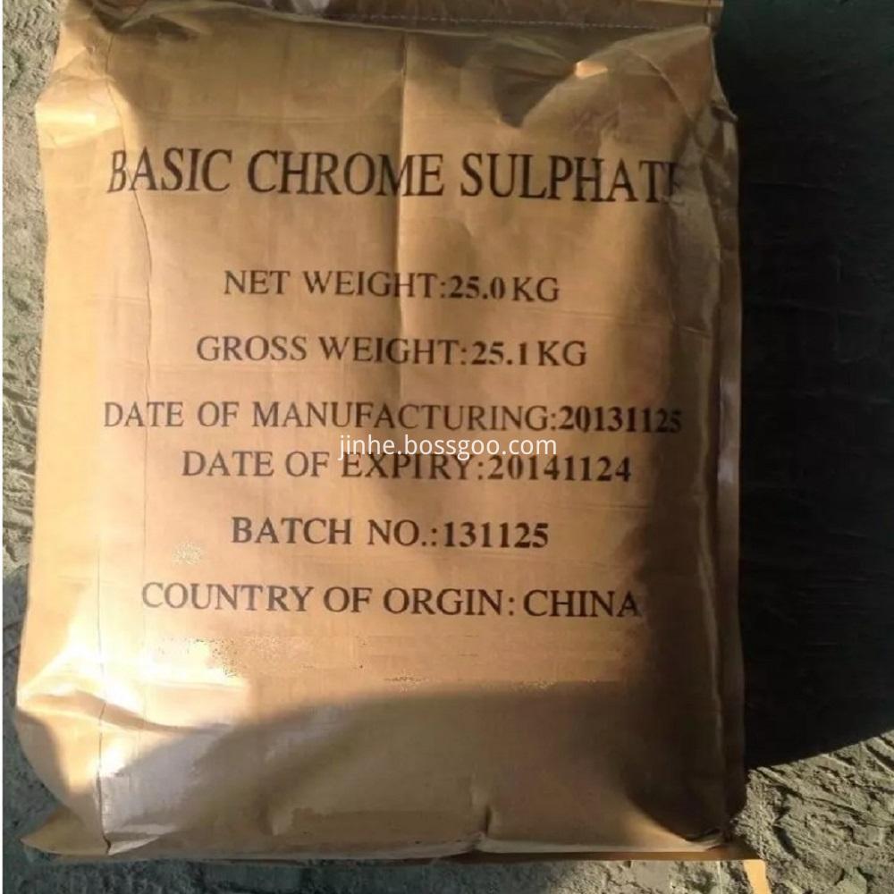 Tanning & Retanning Basic Chromium Sulphate
