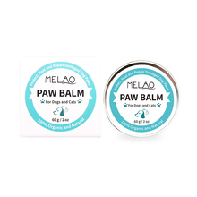High Quality Private Label Natural Herbal Formula Moisturizing Pet Dog Paw Protecter Natural Paw & Nose Protection Balm For Dogs