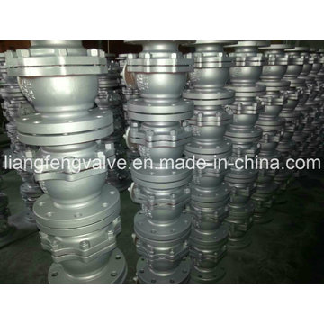 API 2PC Flanged Ball Valve with Cast Steel