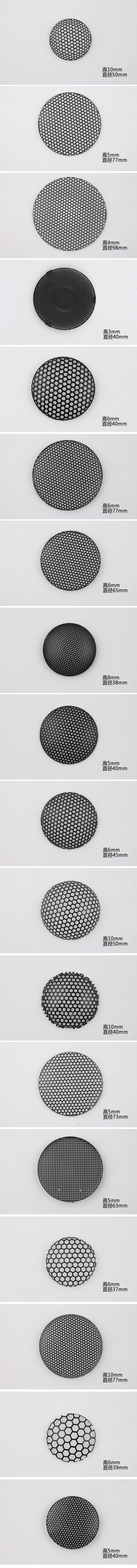 Wire Mesh for 40mm Tweeter