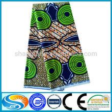 Personalizar ou design existente 100% algodão cera tecido hotsale estilo de moda