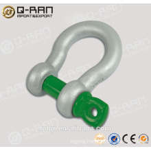 US Type Drop Forged Screw Pin Shackles/ Crane Shackles/209 Shackles