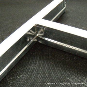 Цинк потолка бар, оцинкованные покрытием Т (32X24X3600, 38X24X3600mm)