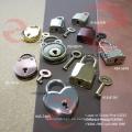 Tirador / deslizador de cremallera chapado en oro (G17-422A)