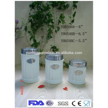 2015 new products ceramic tea sugar and coffee canisters