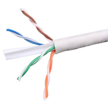 UTP CAT6 LSZH Cable Fluke Tested Soild Bare Copper White