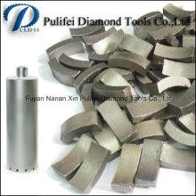 Diamond Core Drill Bit Segment for Reinforce Concrete Core Drilling Hole