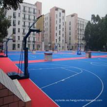 China Facroty Venta PP Interlock Deportes Pisos de pista de tenis