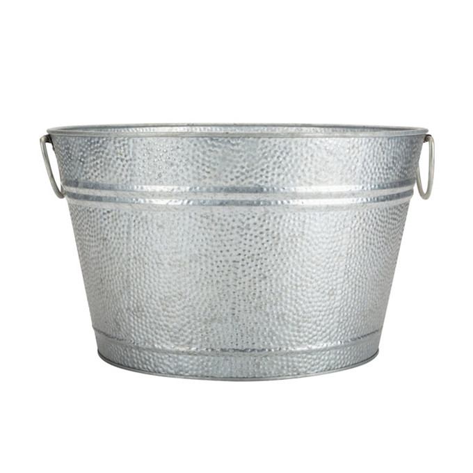 Galvanized Tin Metal Bucket