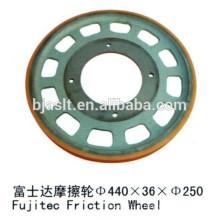 Roda de fricção / roda de tração