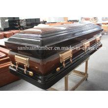 Wooden Casket / Unique New Wooden Casket & Coffin / Wood Casket (WM02)