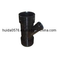 PP Corruquated Skew Tee Mould of Huida