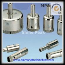 Broca de diamante electrochapados para vidrio y ceramica