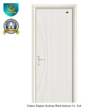 Porte en bois de style moderne HDF pour l'intérieur (DS-105)