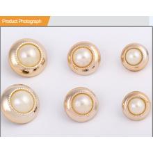 Shinny Gold ABS Button Button BA60373