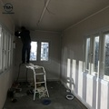 White expandable container house folding container living house