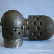 Montages et accessoires de chaudière CFBC tuyau de buse d'air