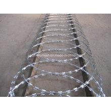 Crossed Coil Concertina Razor Barbed Wire