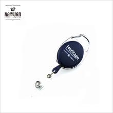 Custom Retractable Carabiner Badge Reel Yoyo Reel Pull