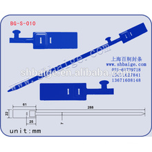 plastic security seal BG-S-010, container seal