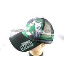 high quality heat transfer print children 's mesh cap