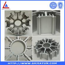 Dissipador de calor de alumínio anodizado e expulso personalizável