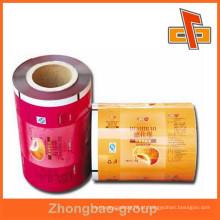 China laminado promocional embalagens de plástico composto fabricante de sacos de filme na China