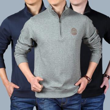 Мужской свитер с длинными рукавами