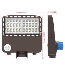 Высокая яркость 150w привела светильник Shoebox освещения зоны