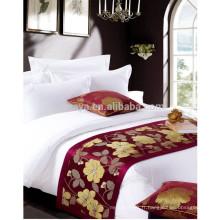 Ensemble de literie en satin en coton de haute qualité pour hôtel de luxe 5 étoiles