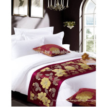 High Quality Satin Cotton Bedding Set for 5 Star Luxury Hotel