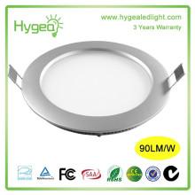 6/12 watt led panneau lumière AC85-277V led panneau lumineux pour cuisine