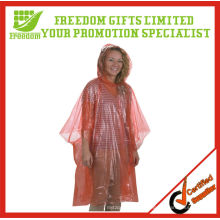Cheapest Price Logo Printed Top Quality Clear Plastic Poncho