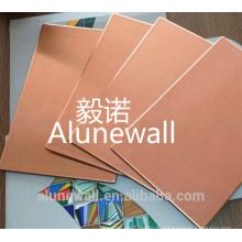 Alunewall Copper panneau composite de revêtement extérieur CCP avec grand prix