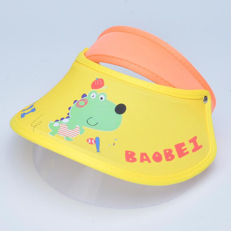 Kids Children Protective Mask Face Shield Mask Hat Visor Cap Plastic Manufacture