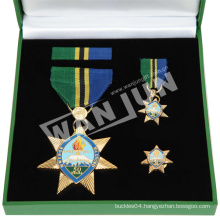 custom plating silver and gold medal of honor heroes